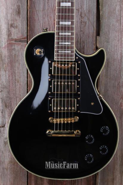 Epiphone Les Paul Black Beauty Electric Guitar 3 Alnico ...