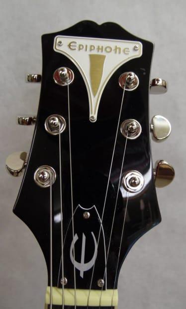 epiphone wildkat semi hollowbody electric guitar w hard case reverb. Black Bedroom Furniture Sets. Home Design Ideas