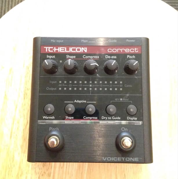 tc helicon voicetone double manual