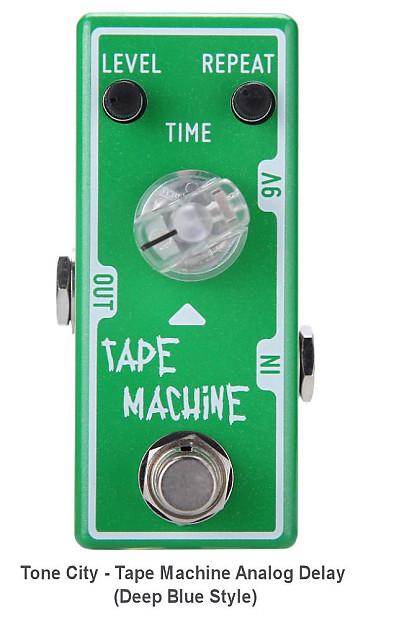 tone city machine delay pedal