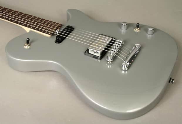 2014 Manson Ma 2 Evo Delorean Silver Electric Guitar New
