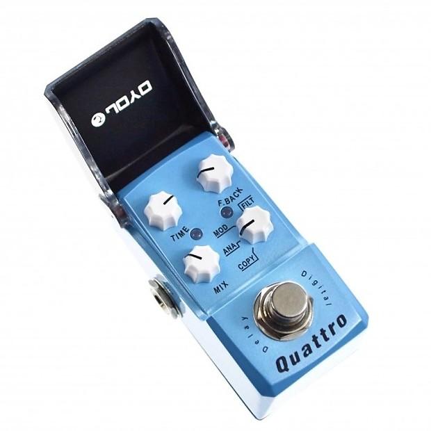 joyo jf 318 quattro digital delay mini guitar effect pedal reverb. Black Bedroom Furniture Sets. Home Design Ideas