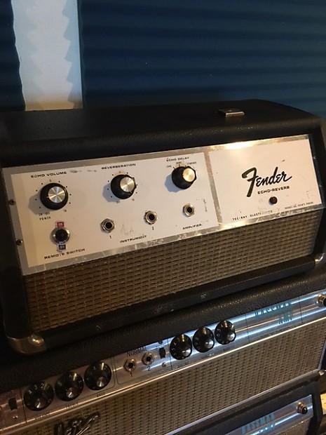 Fender Analog Echo Reverb 1969/70 Black / Chrome | Reverb
