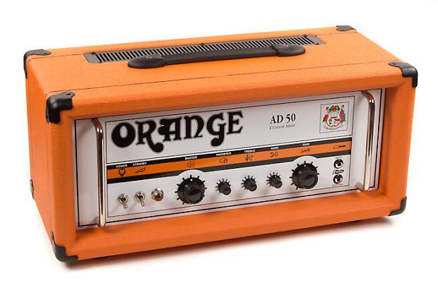 orange ad50 custom shop guitar amp head 50 30 watts reverb. Black Bedroom Furniture Sets. Home Design Ideas