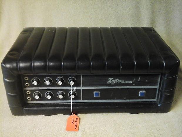 1970 39 s kustom tuck n 39 roll 250 1 guitar amp head vintage reverb. Black Bedroom Furniture Sets. Home Design Ideas