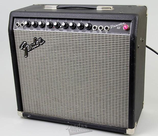 used fender 39 65 princeton reverb electric guitar amplifier reverb. Black Bedroom Furniture Sets. Home Design Ideas