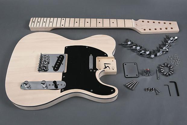 diy 12 string tele guitar kit telecaster project basswood reverb. Black Bedroom Furniture Sets. Home Design Ideas