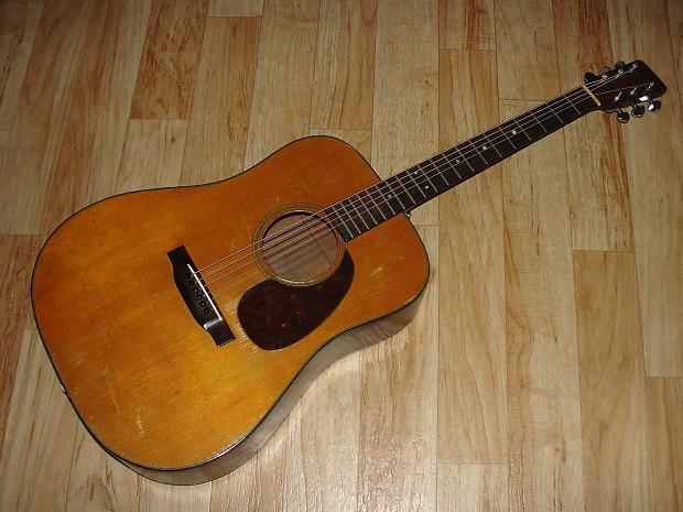 vintage 1947 martin d 18 dreadnought acoustic guitar 39 47 reverb. Black Bedroom Furniture Sets. Home Design Ideas