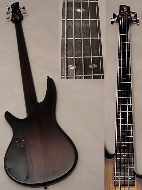 ibanez srt705dx 5 string electric bass guitar active pre amp reverb. Black Bedroom Furniture Sets. Home Design Ideas