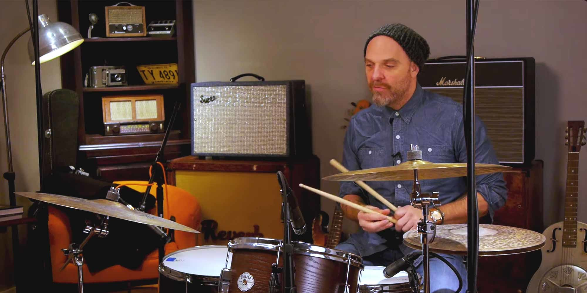 Drum Tricks with The Bad Plus' Dave King | Reverb