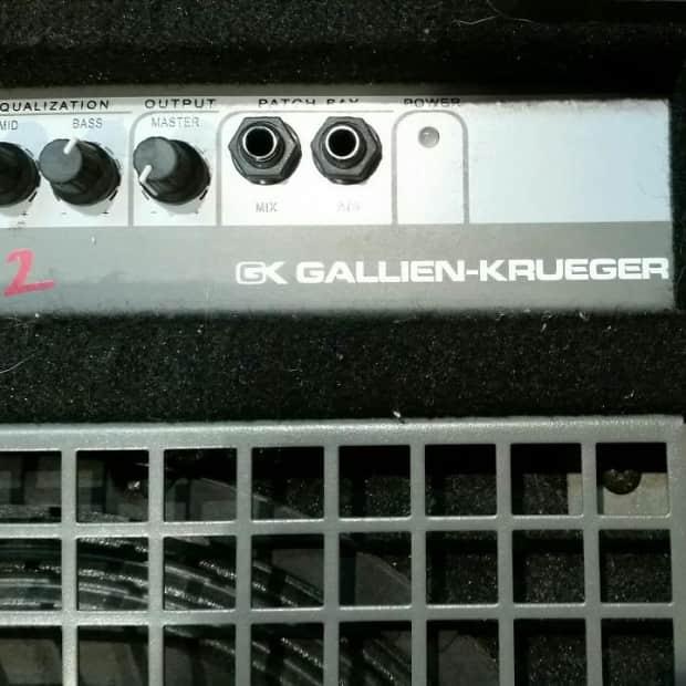 gallien krueger gk backline 112 bass combo reverb. Black Bedroom Furniture Sets. Home Design Ideas