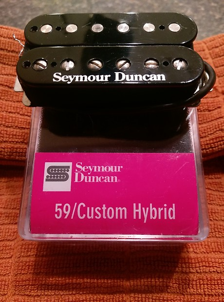 seymour duncan 59 custom hybrid black reverb. Black Bedroom Furniture Sets. Home Design Ideas