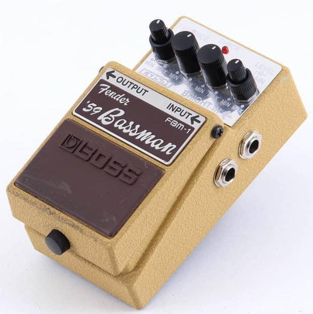boss fbm 1 fender 39 59 bassman amp modeler guitar effects reverb. Black Bedroom Furniture Sets. Home Design Ideas