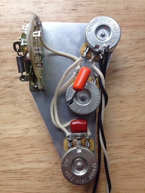 ptb passive treble and bass upgrade wiring harness for fender reverb. Black Bedroom Furniture Sets. Home Design Ideas