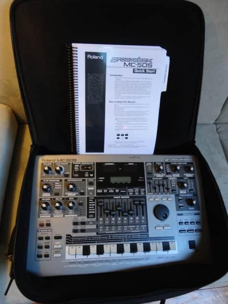 roland mc 505 quick start manual
