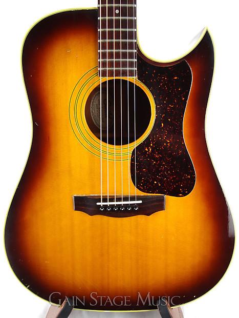 used guild d40ce acoustic guitar vintage 1979 with pickup reverb. Black Bedroom Furniture Sets. Home Design Ideas