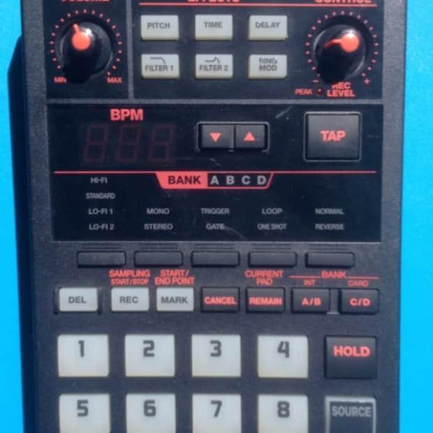 Boss sp 202 sampler black reverb for Yamaha mx61 specs