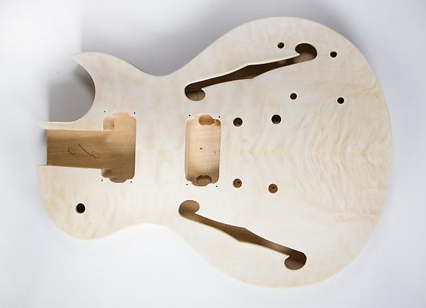 diy diy electric guitar kit lp semi hollow build your own reverb. Black Bedroom Furniture Sets. Home Design Ideas