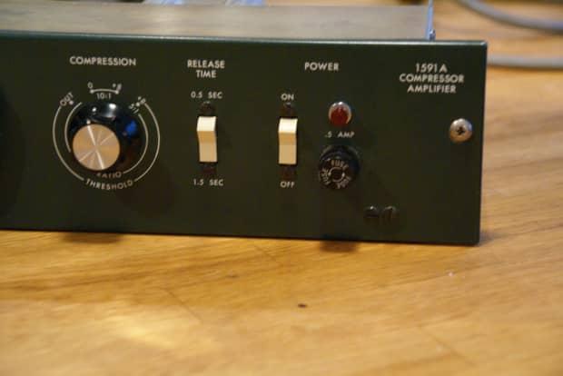 Altec 1591a Preamp Compressor 1970 S Green Reverb