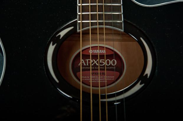 Yamaha Apx500 2010 Black Reverb