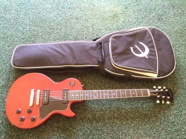 2006 epiphone les paul special w gibson pickups wine red made in japan mij many upgrades free. Black Bedroom Furniture Sets. Home Design Ideas
