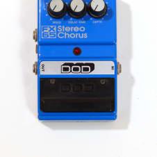 DOD FX65 Stereo Chorus Black/Blue Graphic image