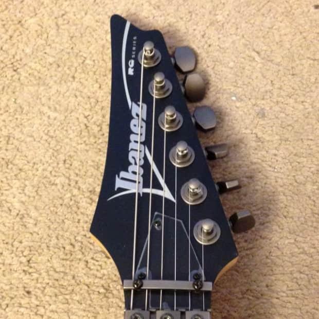 ibanez rg5ex1 satin matte black guitar reverb. Black Bedroom Furniture Sets. Home Design Ideas
