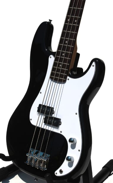 electric bass guitar for beginners black imeb260 reverb. Black Bedroom Furniture Sets. Home Design Ideas