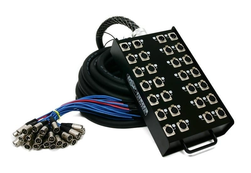 Elite Core PS24450 24 x 4 Channel 50' Stage Snake