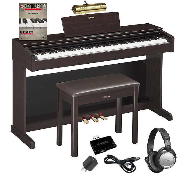 yamaha arius ydp 143 digital piano dark rosewood complete reverb. Black Bedroom Furniture Sets. Home Design Ideas