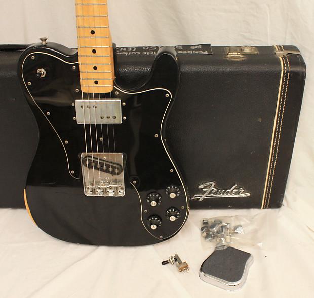"Richards Body Shop >> Fender Telecaster Custom ""Keith Richards"" 1975 Black | Reverb"