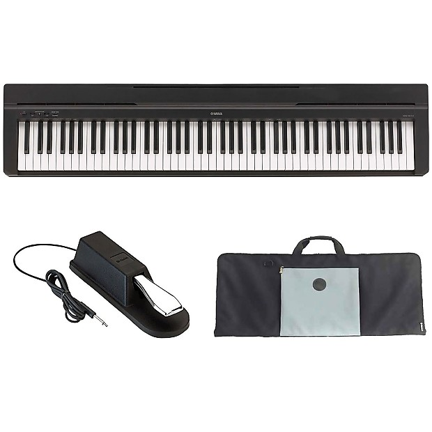 Yamaha p35b 88 key digital piano with 88 key keyboard gig for Yamaha p series p35b