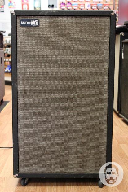 sunn 2x15 bass or guitar cabinet eminence delta 15b speakers reverb. Black Bedroom Furniture Sets. Home Design Ideas