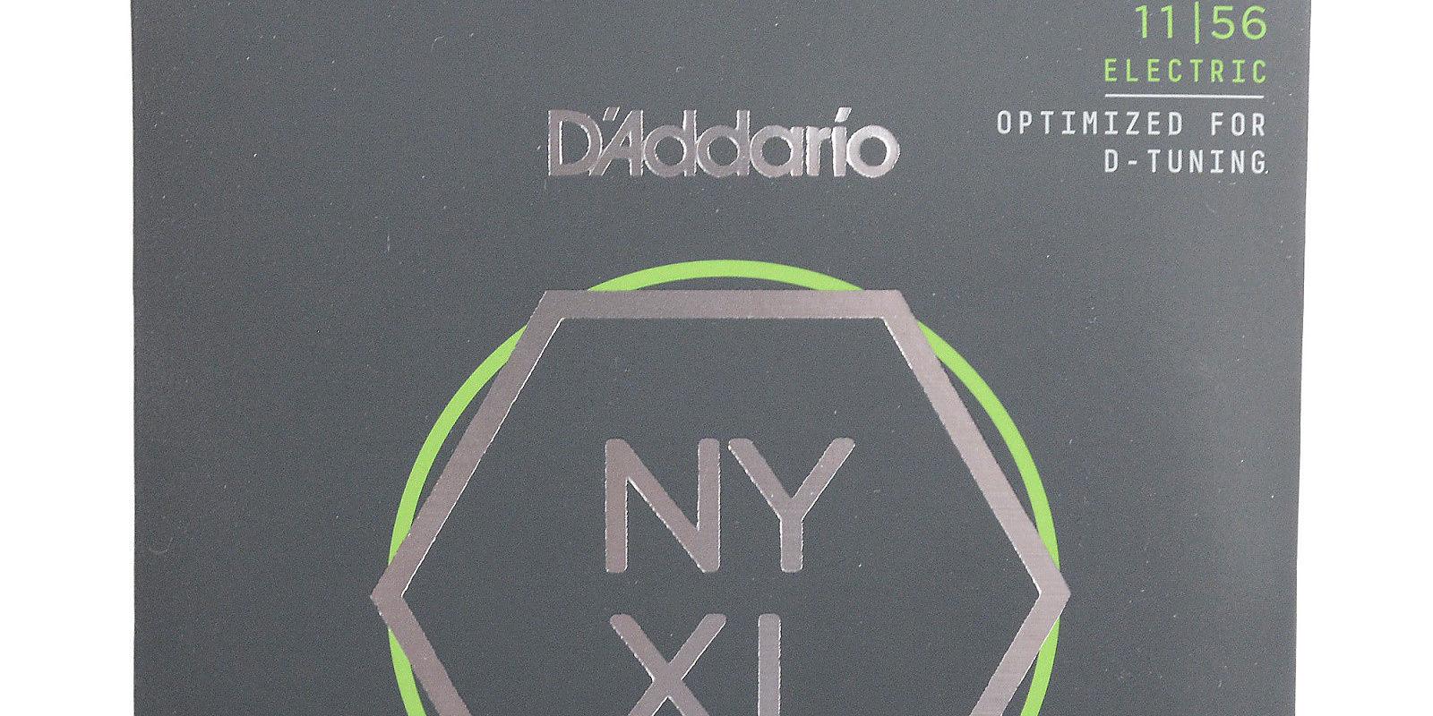 D'Addario NYXL1156 Nickel Wound Electric Guitar Strings ...