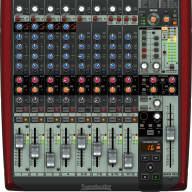 Behringer Xenyx UFX1204 Premium 12-Input 4-Bus Mixer USB Firewire Recording Mixer Interface Effects!