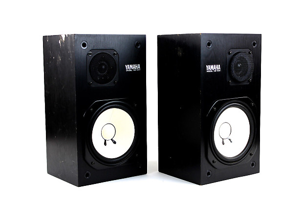 yamaha ns 10m studio monitors speaker pair ns 10 ns10 reverb. Black Bedroom Furniture Sets. Home Design Ideas