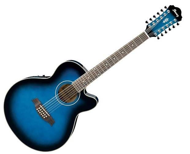 ibanez ael1512e 12 string acoustic electric guitar reverb. Black Bedroom Furniture Sets. Home Design Ideas