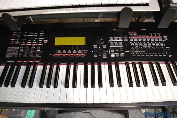 Yamaha s90 es 88 key synthesizer keyboard workstation reverb for Yamaha keyboard synthesizer