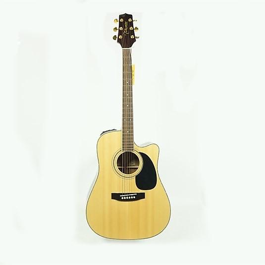 used takamine eg 334sc acoustic guitar natural reverb. Black Bedroom Furniture Sets. Home Design Ideas