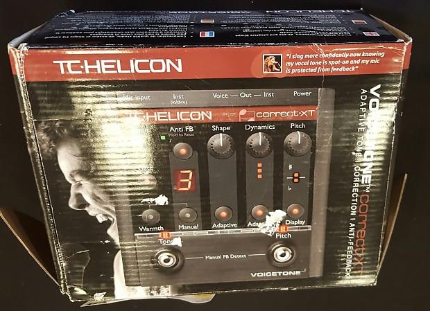Voicetone Correct Xt : t c helicon voicetone correct xt reverb ~ Hamham.info Haus und Dekorationen
