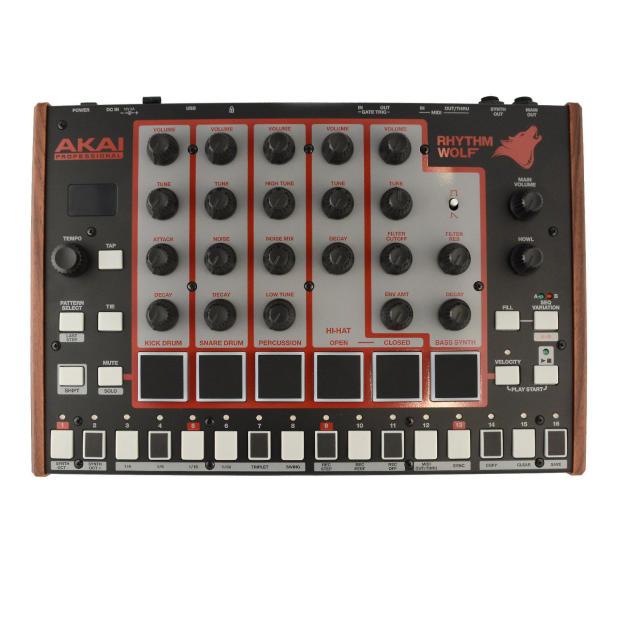 akai rhythm wolf analog drum machine and bass synthesizer reverb. Black Bedroom Furniture Sets. Home Design Ideas
