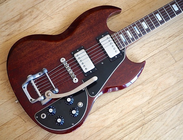 gibson sg deluxe vintage 1970s electric guitar reverb. Black Bedroom Furniture Sets. Home Design Ideas