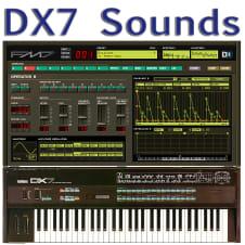 Yamaha DX7, DX7II, DX200, TX7, TX802, TX816, Korg Volca FM Sounds image