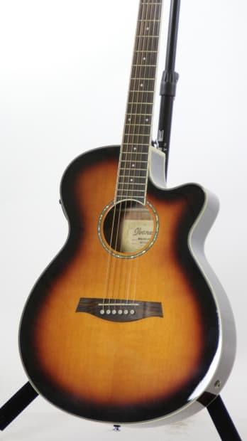 ibanez aeg10ii vs vintage sunburst acoustic electric guitar reverb. Black Bedroom Furniture Sets. Home Design Ideas