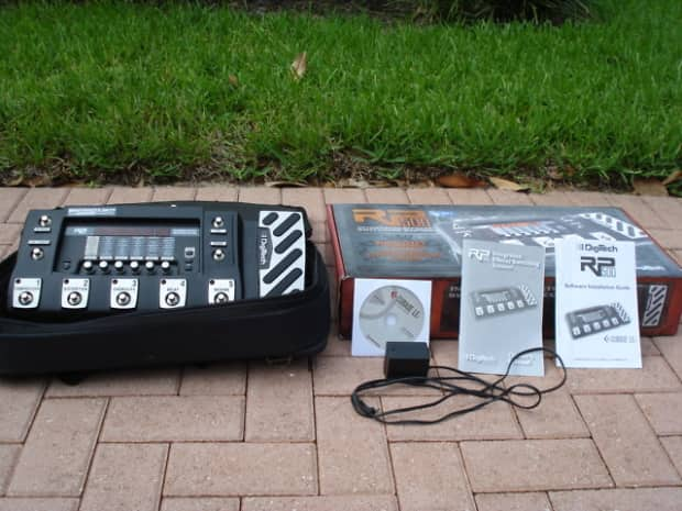 Digitech Rp500 Multi Effect Switching System Reverb