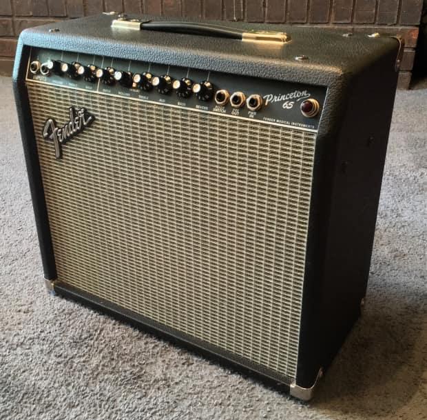 fender princeton 65 type pr 403 1x12 65w combo amplifier reverb. Black Bedroom Furniture Sets. Home Design Ideas