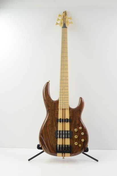 carvin xb75 5 string electric bass guitar natural w gig reverb. Black Bedroom Furniture Sets. Home Design Ideas