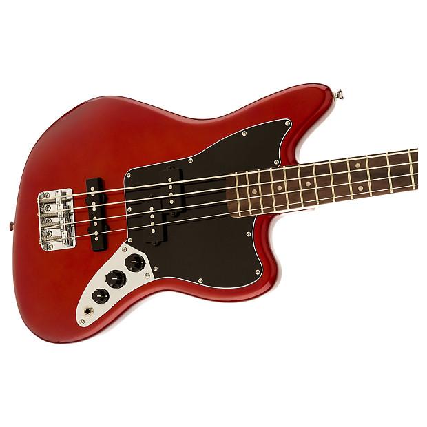Squier Vintage Modified Jaguar Bass Special Ss Candy Apple