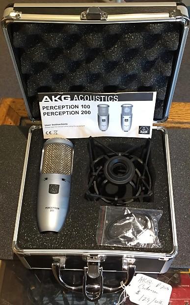 akg perception 200 condenser microphone reverb. Black Bedroom Furniture Sets. Home Design Ideas