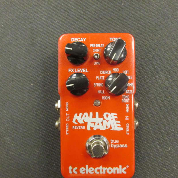 tc electronic hall of fame reverb manual